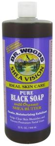 Le gel douche au savon noir de Dr Woods + Jeu concours!!