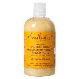 J'ai teste : le moisture retention shampoo de SheaMoisture