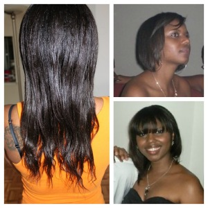 Hair of the week : Marie Jo Niane !