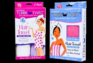 Les serviettes en microfibre pour les cheveux, vousconnaissez?