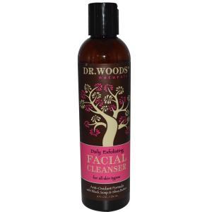 Test produit : Gel nettoyant visage au savon noir et beurre de Karite DrWoods